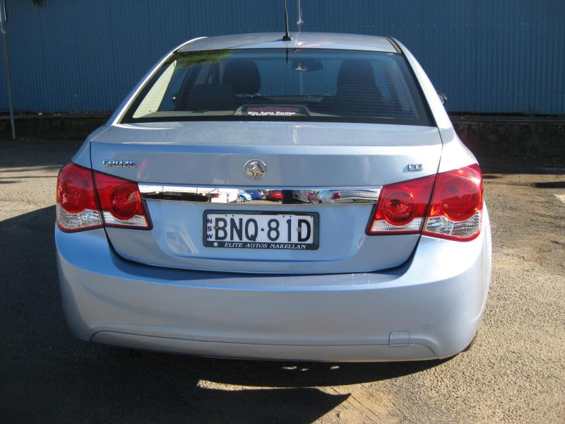 2009 HOLDEN CRUZE CD JG 32966