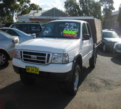 2005 FORD COURIER GL (4X4) PH 33310